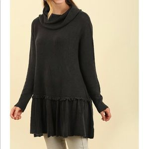 NWT - Cowl Neck Umgee Sweater